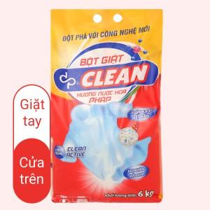 Bột giặt dp CLEAN hương nước hoa pháp 6kg