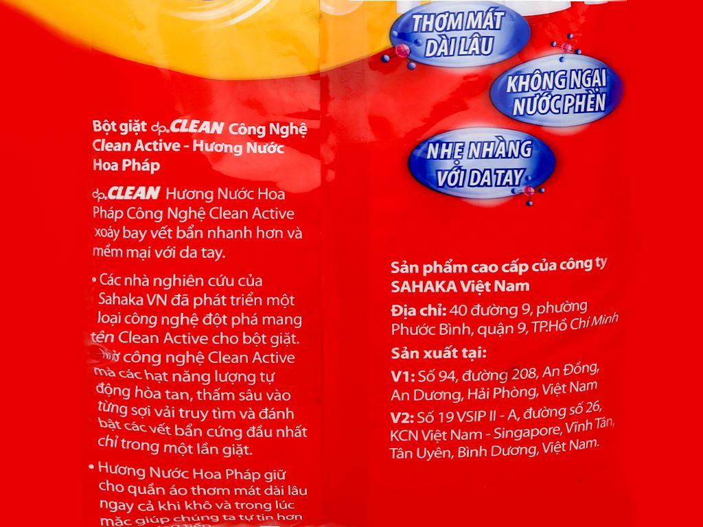 Bột giặt dp CLEAN hương nước hoa pháp 3kg 7