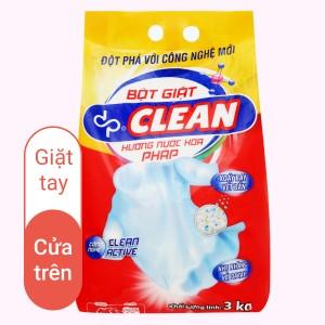 Bột giặt dp CLEAN hương nước hoa pháp 3kg