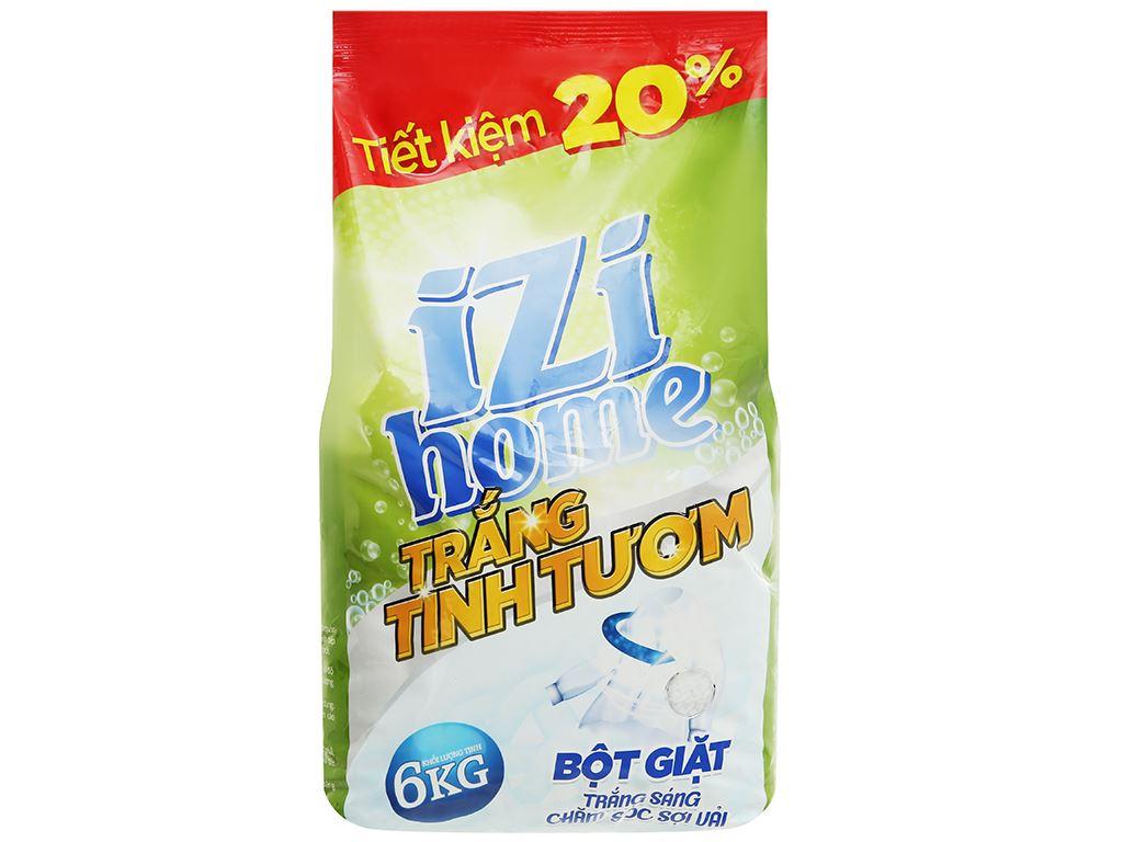 Bột giặt IZI HOME trắng tinh tươm 6kg 1