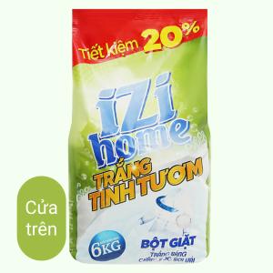 Bột giặt IZI HOME trắng tinh tươm 6kg