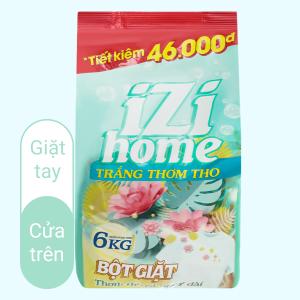 Bột giặt IZI HOME trắng thơm tho 6kg