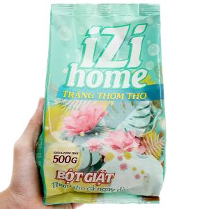 Bột giặt IZI HOME trắng thơm tho 500g