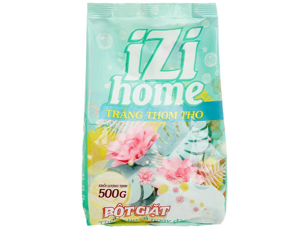 Bột giặt IZI HOME trắng thơm tho 500g 1