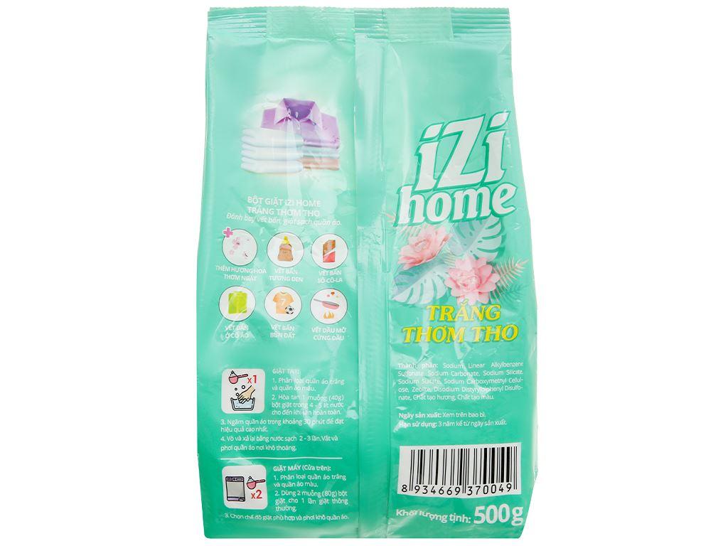 Bột giặt IZI HOME trắng thơm tho 500g 2