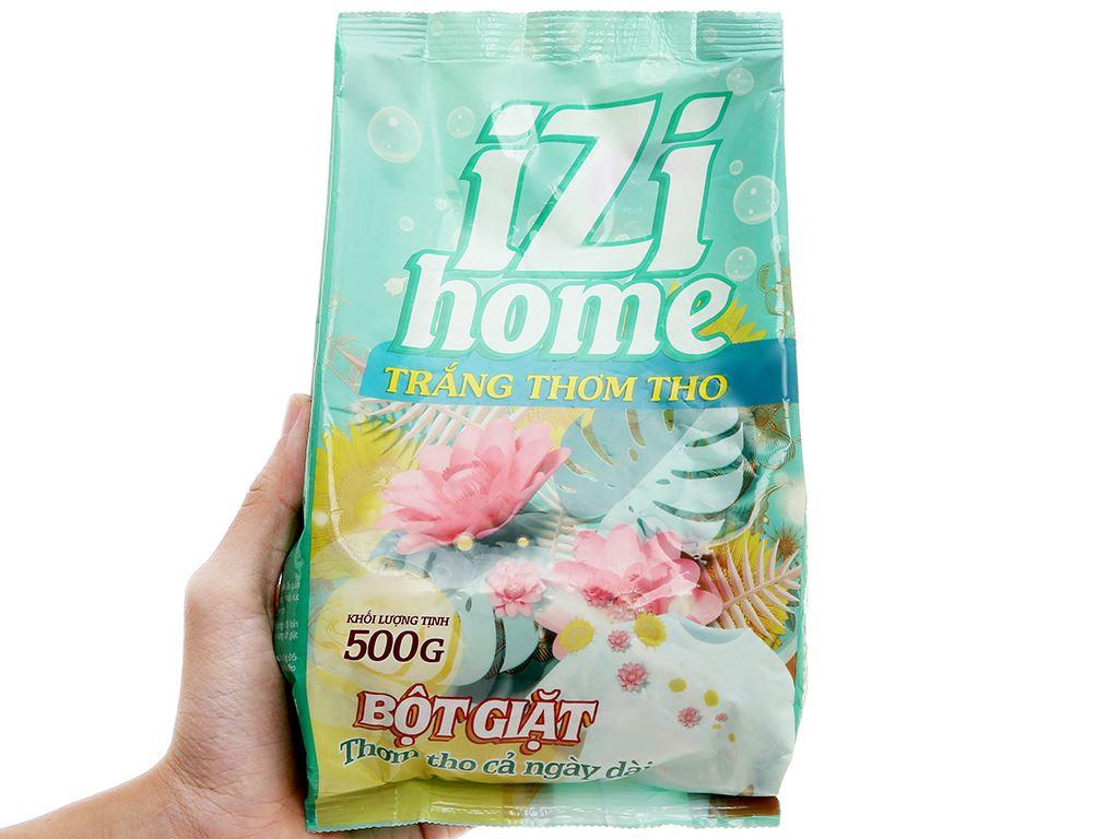 Bột giặt IZI HOME trắng thơm tho 500g 6