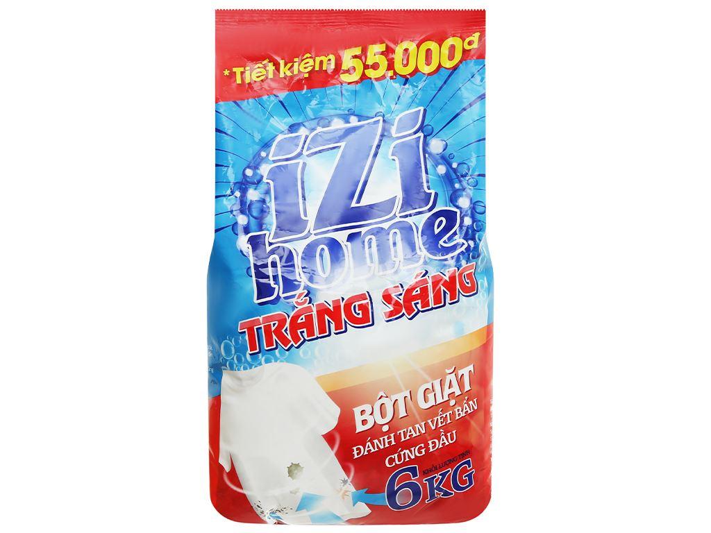 Bột giặt IZI HOME trắng sáng 6kg 1