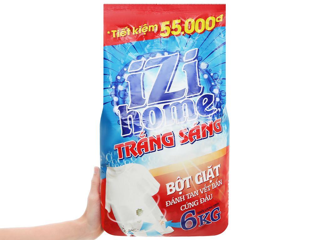 Bột giặt IZI HOME trắng sáng 6kg 6
