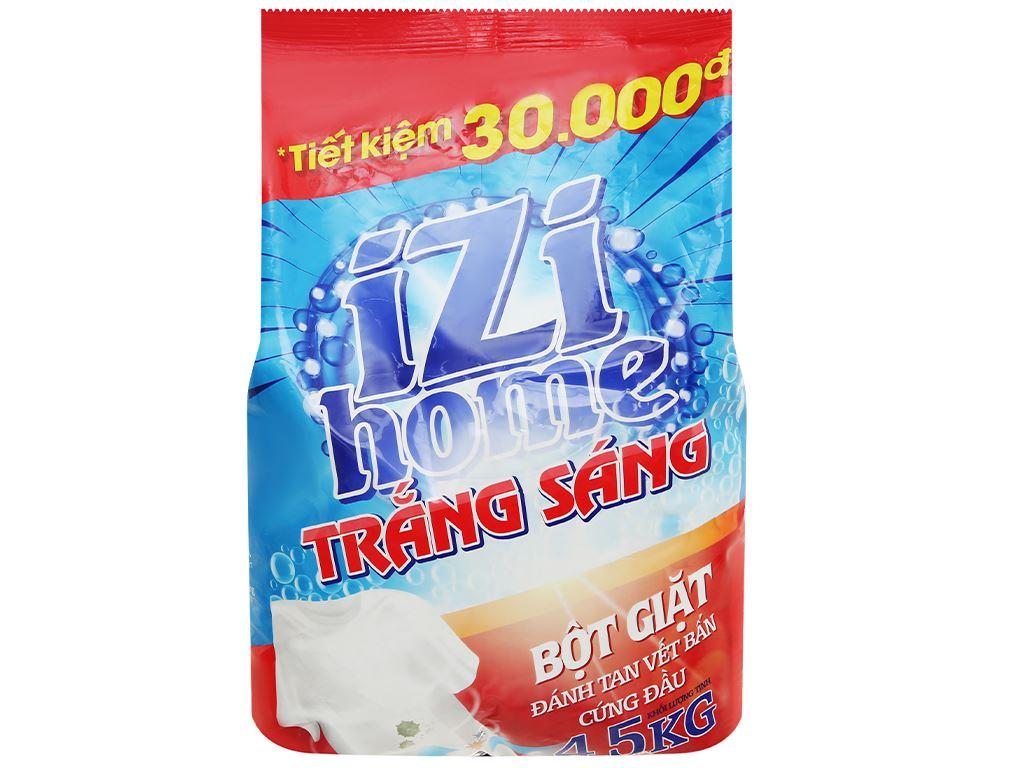 Bột giặt IZI HOME trắng sáng 4.5kg 1