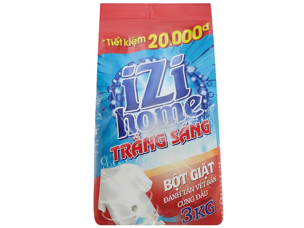 Bột giặt IZI HOME trắng sáng 3kg 1