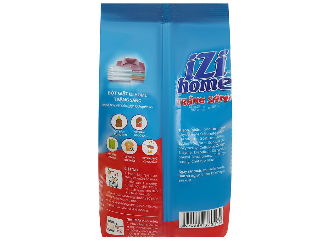 Bột giặt IZI HOME trắng sáng 3kg 2