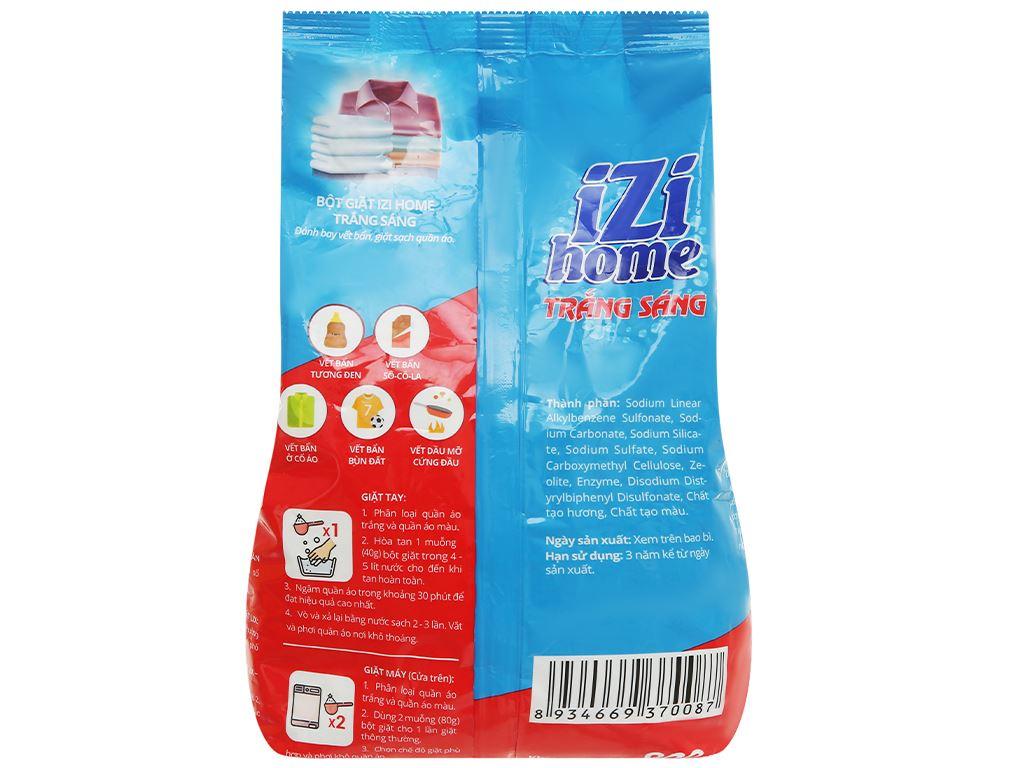 Bột giặt IZI HOME trắng sáng 800g 2