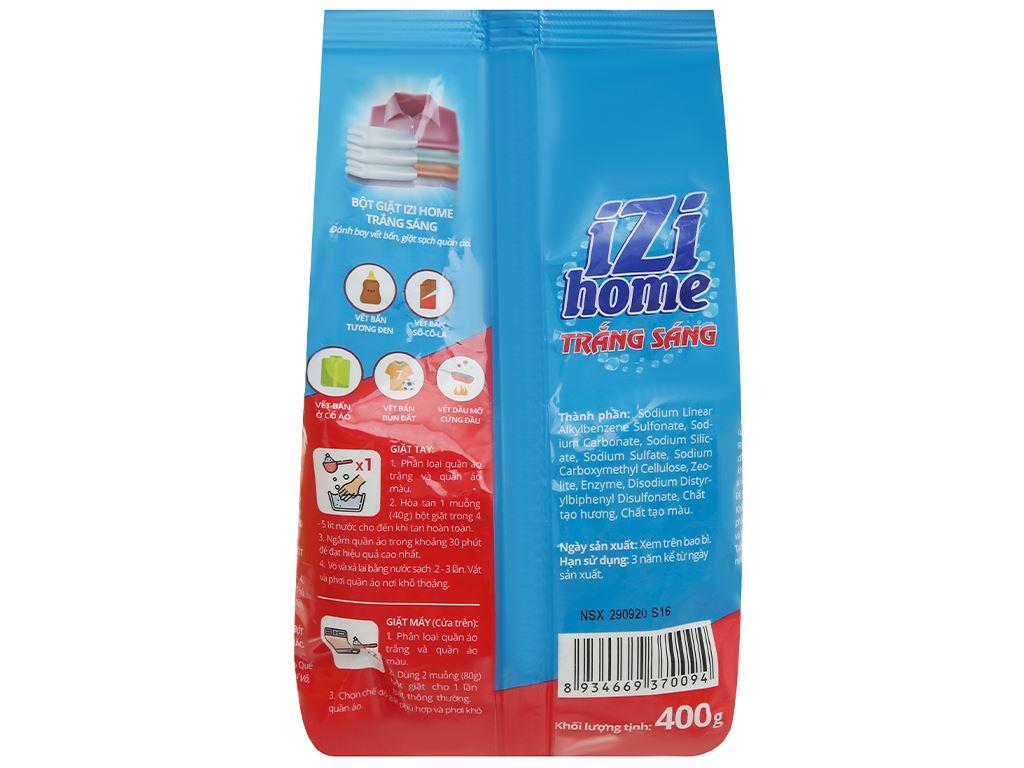 Bột giặt IZI HOME trắng sáng 400g 2
