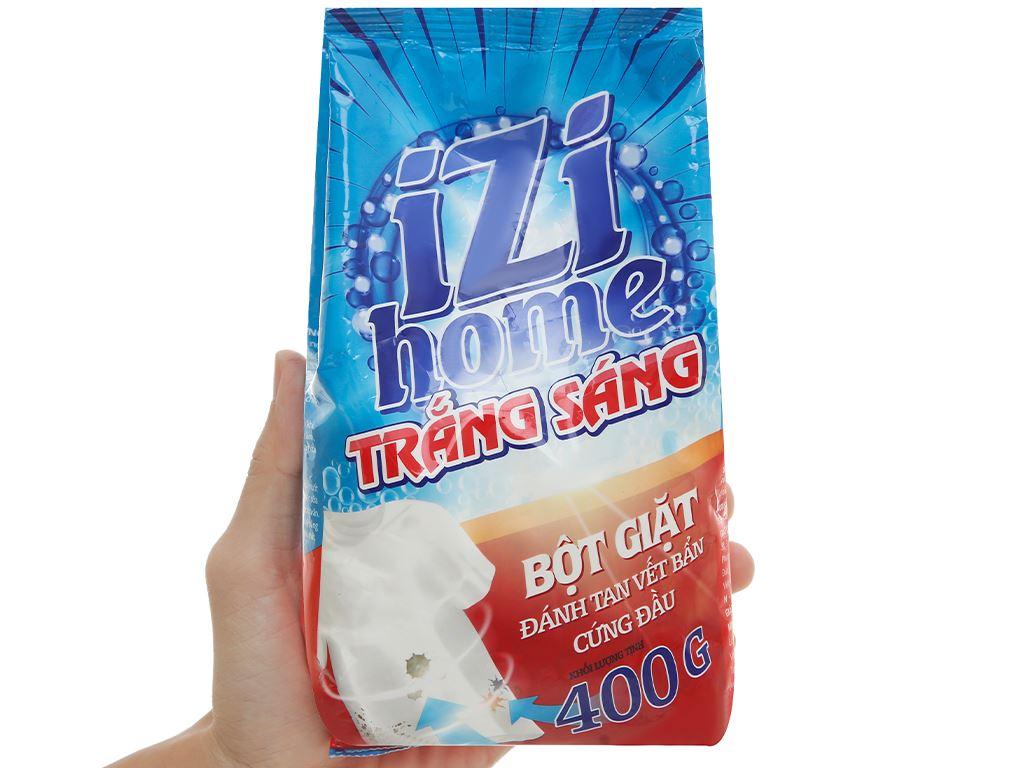 Bột giặt IZI HOME trắng sáng 400g 6