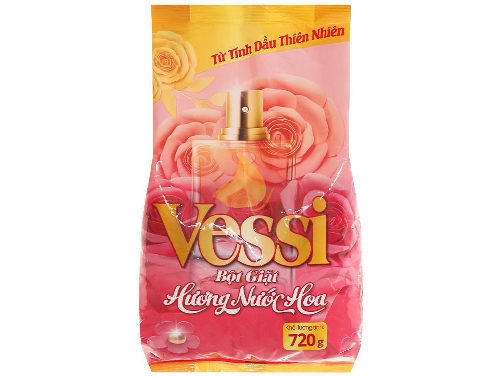 Bột giặt Vessi hương nước hoa 720g 1