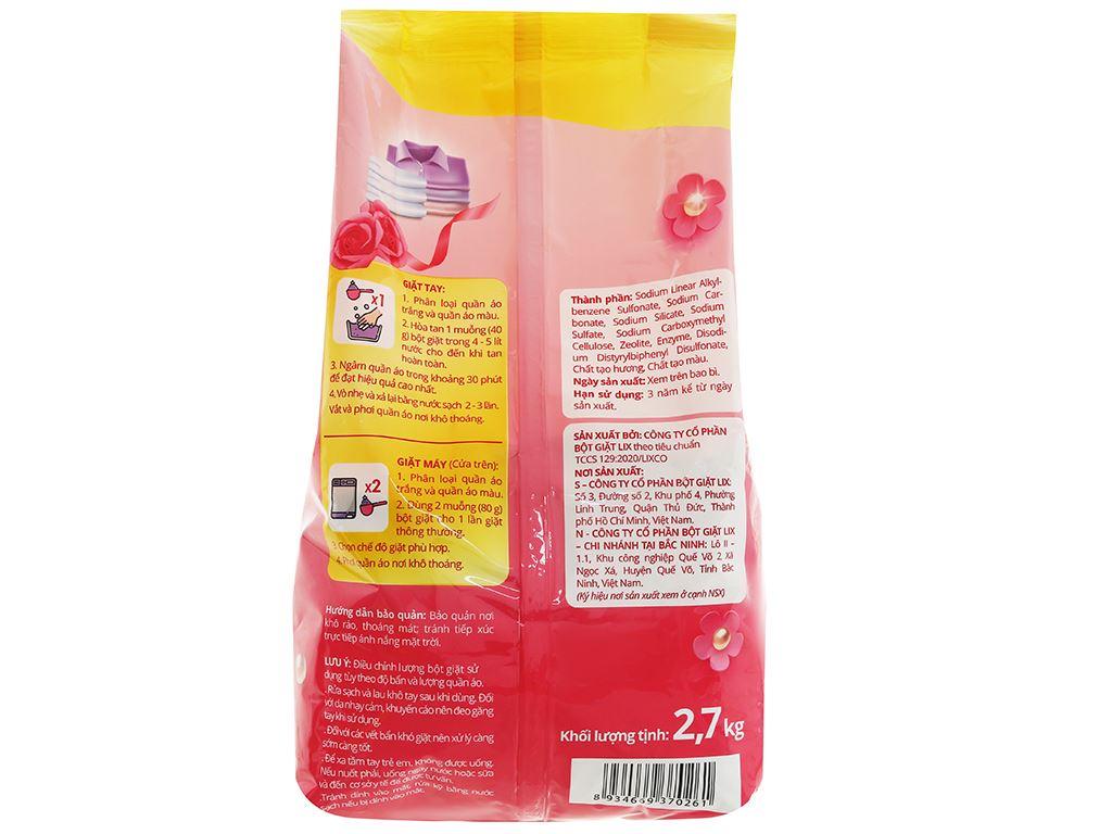 Bột giặt Vessi hương nước hoa 2.7kg 2