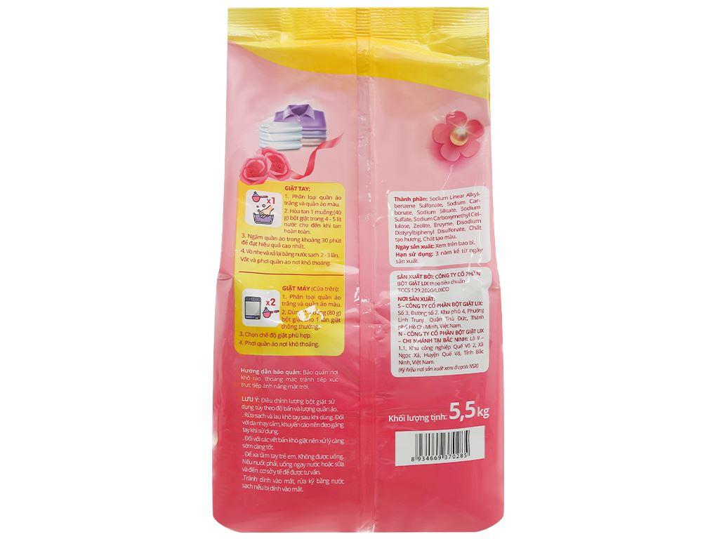 Bột giặt Vessi hương nước hoa 5.5kg 2