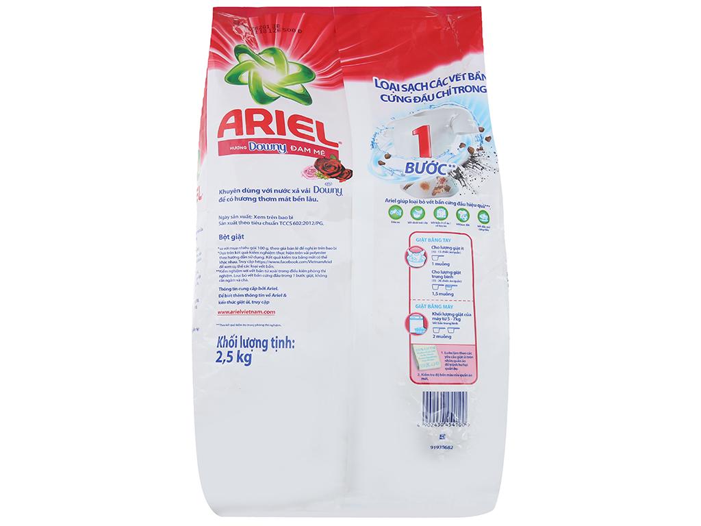 Bột giặt Ariel hương Downy đam mê 2.5kg 2