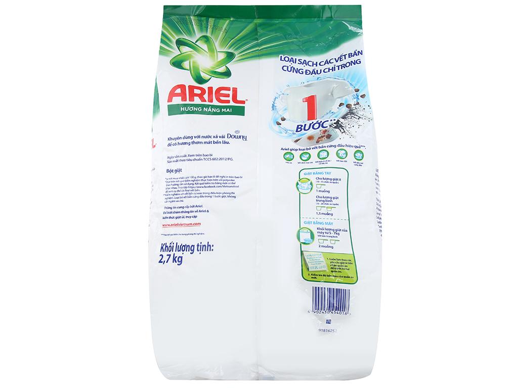 Bột giặt Ariel hương nắng mai 2.7kg 3