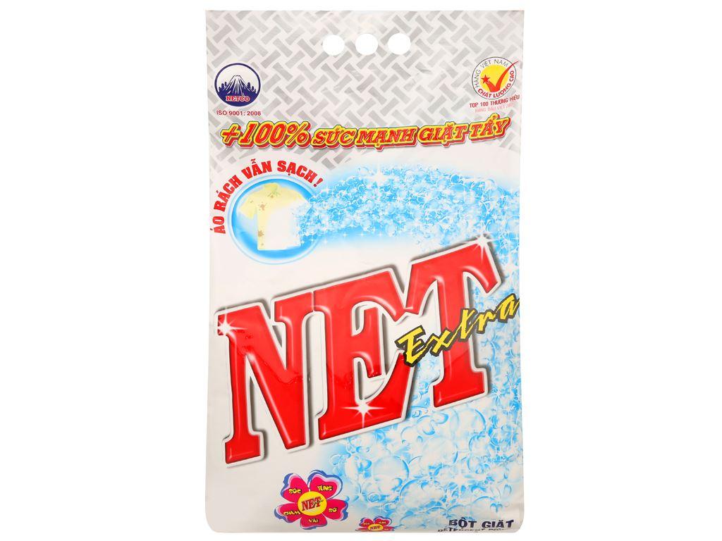 Bột giặt NET Extra hoa thiên nhiên 6kg 1