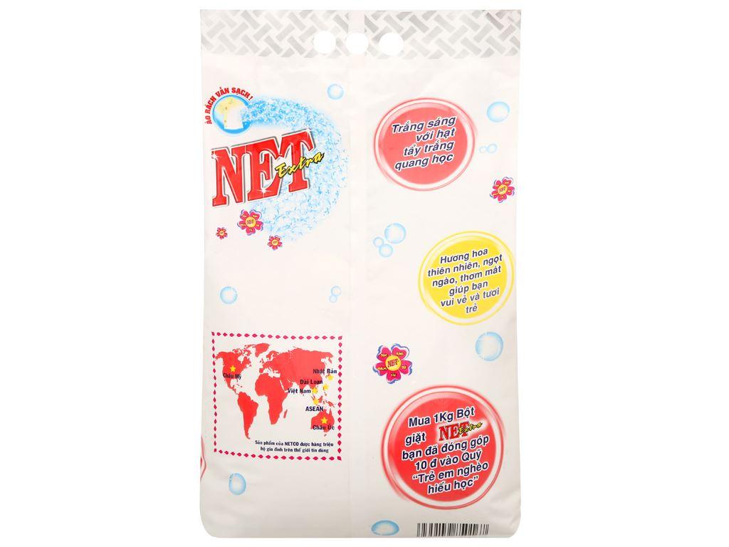 Bột giặt NET Extra hoa thiên nhiên 6kg 2