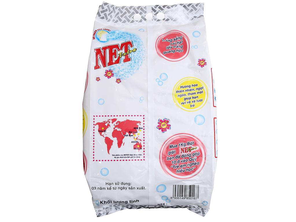 Bột giặt NET Extra Hoa thiên nhiên 6kg 3