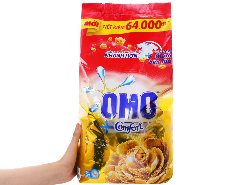 Bột giặt OMO Comfort tinh dầu thơm tinh tế 5.5kg 5
