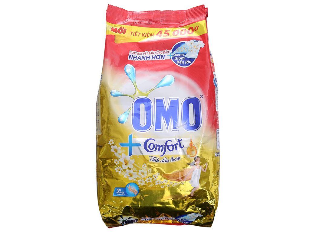 Bột giặt OMO Comfort tinh dầu thơm tinh tế 5.5kg 2