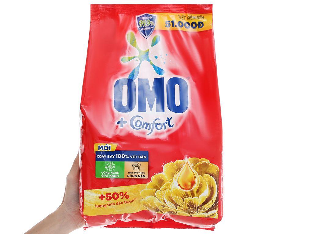 Bột giặt OMO Comfort tinh dầu thơm nồng nàn 4.1kg 7