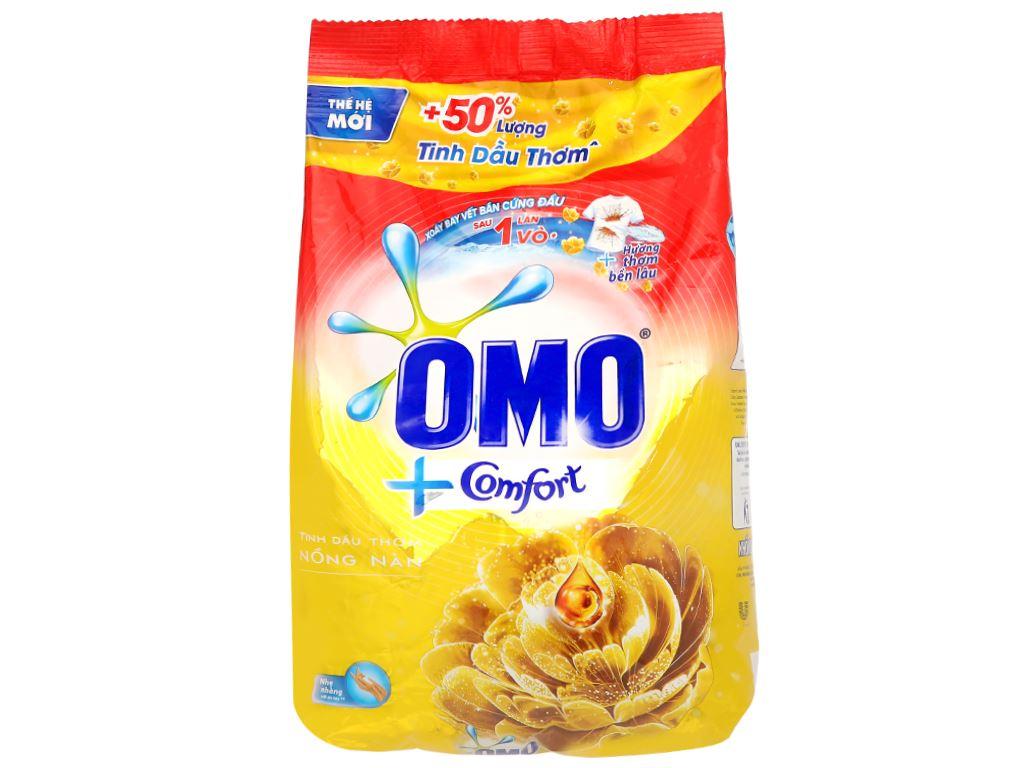Bột giặt OMO Comfort tinh dầu thơm nồng nàn 4.1kg 1
