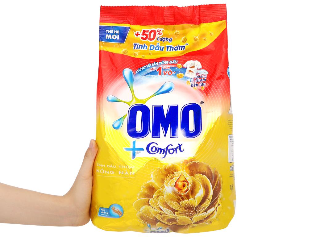 Bột giặt OMO Comfort tinh dầu thơm nồng nàn 4.1kg 5