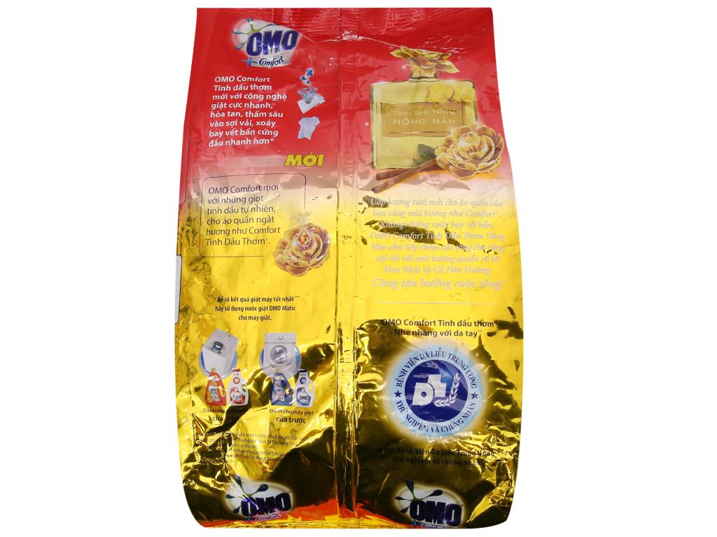 Bột giặt OMO Comfort Tinh dầu thơm nồng nàn 4.1kg 3