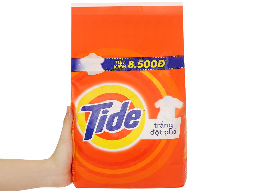Bột giặt Tide trắng đột phá 2.7kg 6