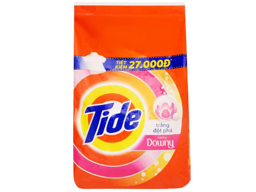 Bột giặt Tide trắng đột phá hương Downy 3.8kg 1