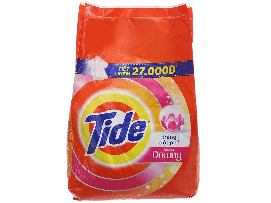 Bột giặt Tide trắng đột phá hương Downy 3.8kg 2