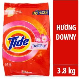 Bột giặt Tide hương Downy 3,8kg
