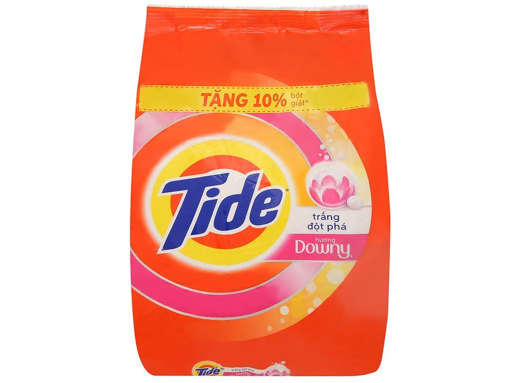 Bột giặt Tide trắng đột phá hương Downy 650g 1