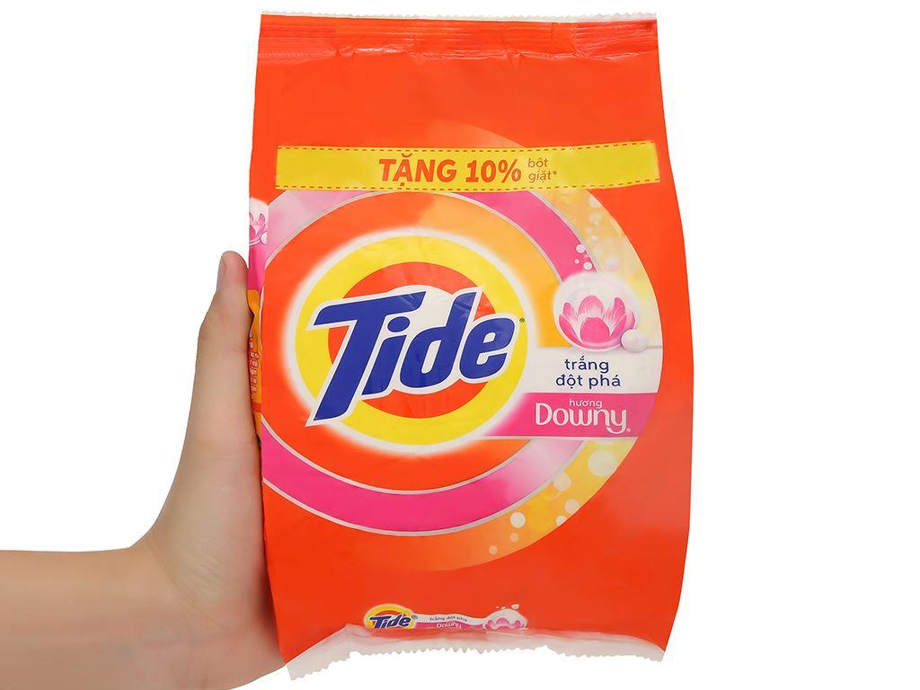 Bột giặt Tide trắng đột phá hương Downy 650g 5