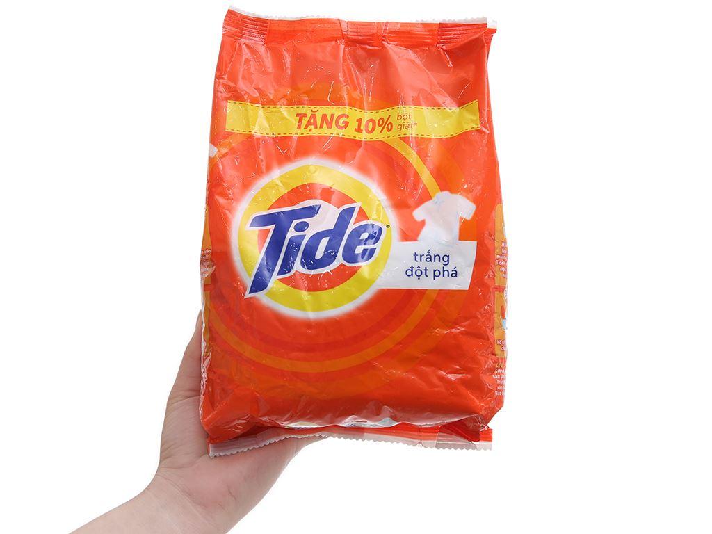 Bột giặt Tide trắng đột phá 800g 4