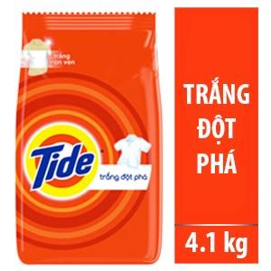 Bột giặt Tide Trắng đột phá 4,1kg
