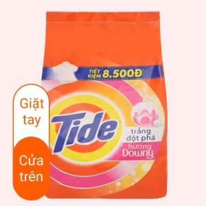 Bột giặt Tide trắng đột phá hương Downy 2.5kg