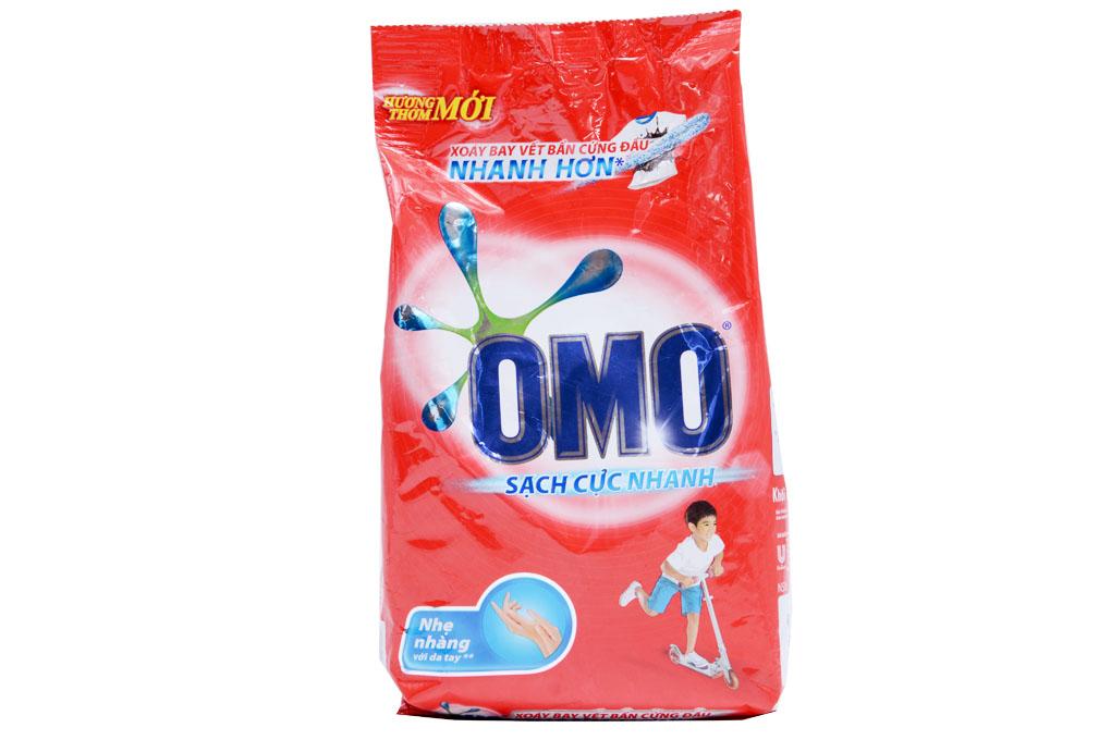 Bột giặt Omo sạch cực nhanh 400g