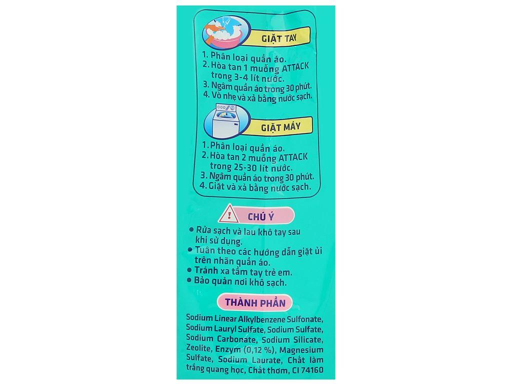 Bột giặt Attack hương hạnh phúc ngọt ngào 3.8kg 3
