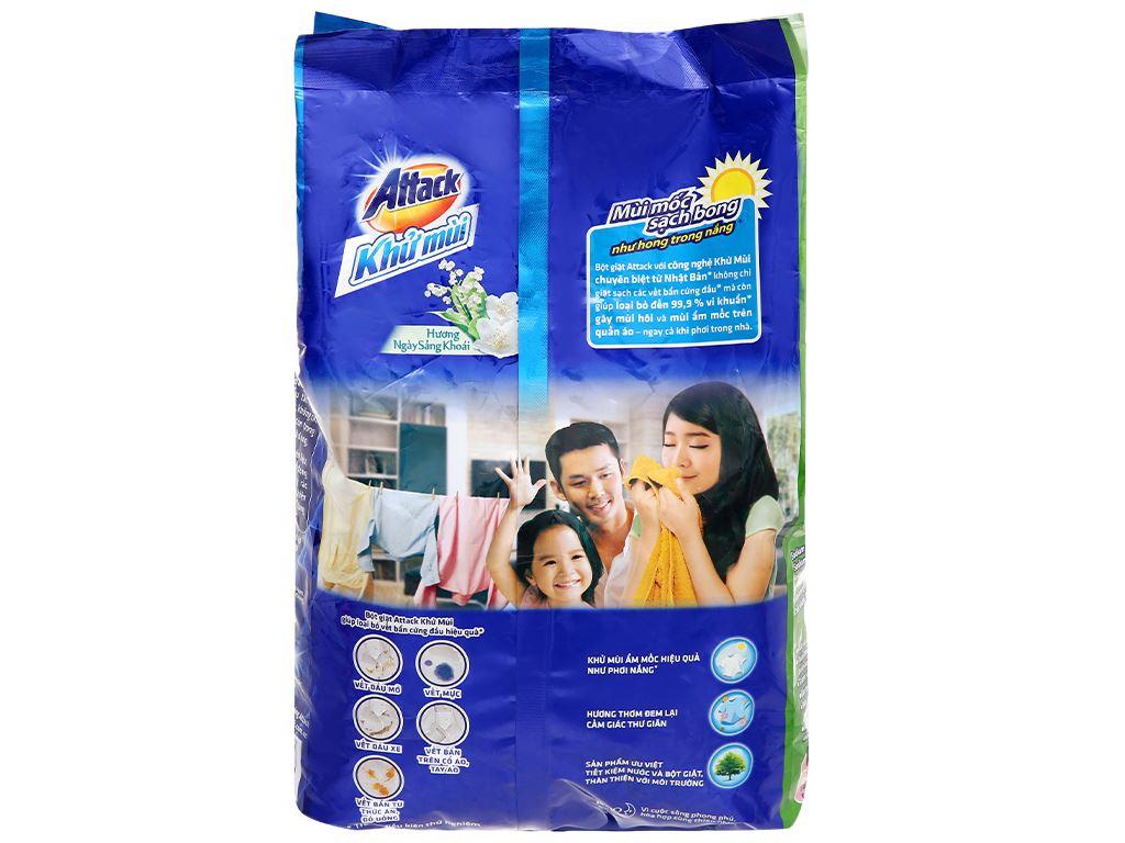 Bột giặt Attack khử mùi hương ngày sảng khoái 3.8kg 7