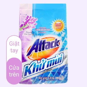Attack khử mùi hương oải hương 3.8kg