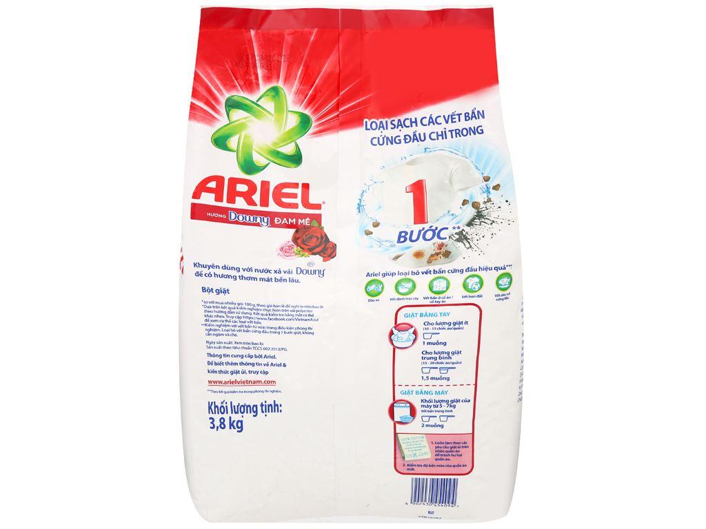 Bột giặt Ariel hương Downy đam mê 3.8kg 2