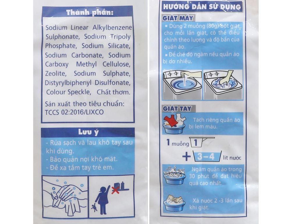 Bột giặt Lix Extra hương hoa 3.8kg 4