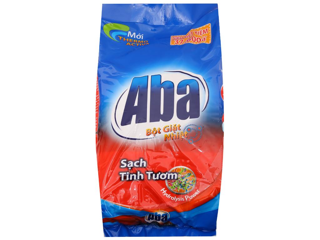 Bột giặt nhiệt Aba Sạch tinh tươm 6kg 2