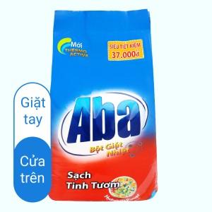 Bột giặt các loại nhiệt Aba sạch tinh tươm 6kg