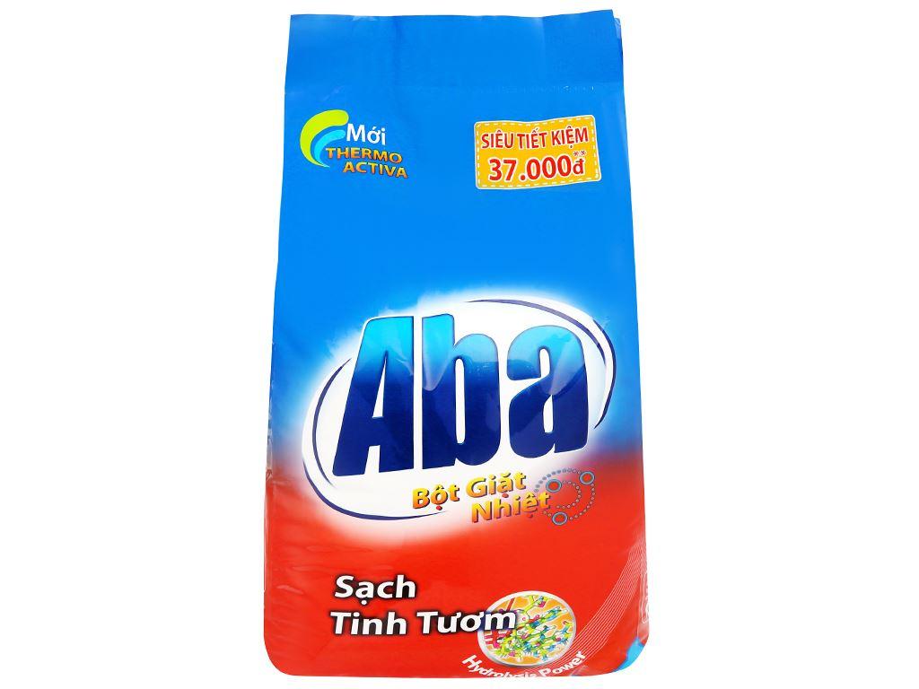 Bột giặt nhiệt Aba sạch tinh tươm 6kg 1